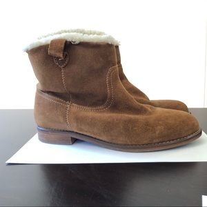Madewell suede bootie 6.5